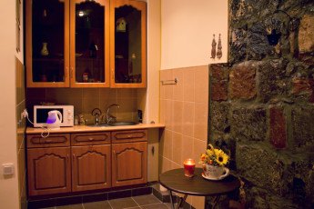 Theatre Hostel : Kitchen in the Theatre Hostel in Armenia