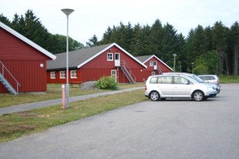 Lista : Exterior View of Lista Hostel, Norway