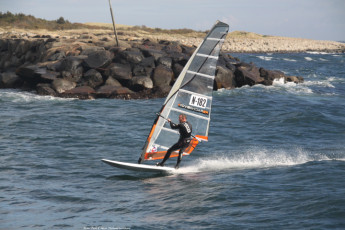 Lista : Guest Windsurfing at Beach Local to Lista Hostel, Norway