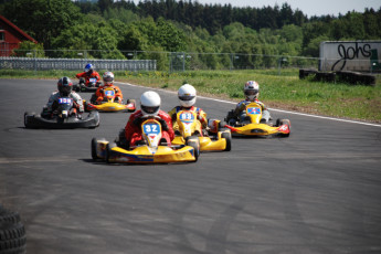 Lista : Go Karting at Lista Hostel, Norway