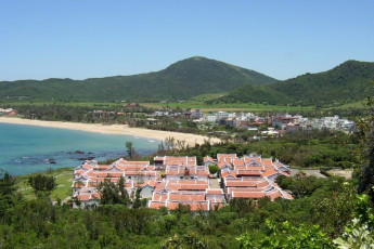 Kenting Youth Activity Center - Pingtung : Aerial View of Kenting Youth Activity Center - Pingtung Hostel, Taiwan in Surrounding Landscape