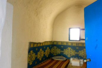 Djerba : Twin Room in Hostel Djerba, Tunisia