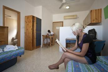 Sliema - NSTS Hibernia Residence : Twin Room in Sliema - NSTS Hibernia Residence Hostel, Malta