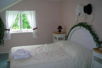 Savonlinna - Kartanohostel WillaNuttu : Private double room at the Savonlinna-WillaNuttu hostel in Finland