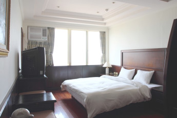 Penghu - YAC International Youth Hostel : Double Bedroom in Penghu - YAC International Youth Hostel, Taiwan