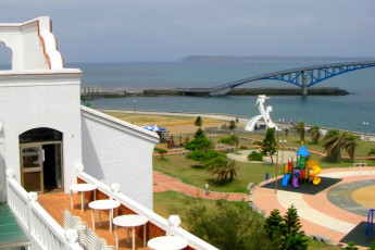 Penghu - YAC International Youth Hostel : View of Penghu - YAC International Youth Hostel, Taiwan in Surrounding Landscape