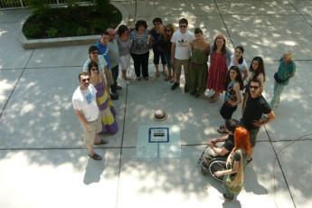 Rijeka - Youth Hostel Rijeka : Guests Standing Outside Rijeka - Youth Hostel Rijeka, Croatia
