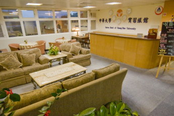 Chung Hua University Internship Hotel : Reception Area in Chung Hua University Internship Hotel, Taiwan