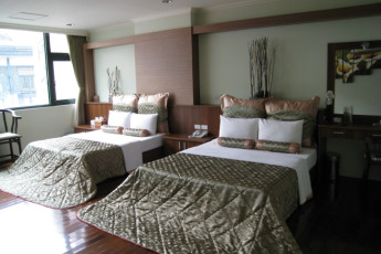 Lakeview Resort International YH : Twin Bedroom in Lakeview Resort International Youth Hostel, Taiwan