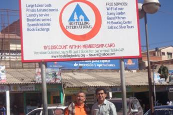 El Villar - HI Hostel El Villar : El Villar - HI Hostel El Villar, Bolivia Sign