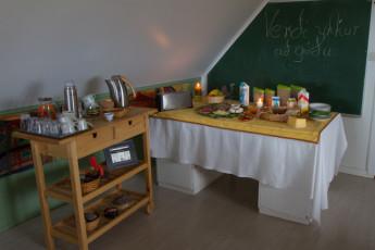 Gaulverjaskóli : Food at Gaulverjaskoli Hostel, Iceland