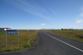 Gaulverjaskóli : Gaulverjaskoli Hostel, Iceland Sign