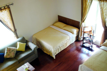 Li Tian Chuang International YH : Twin Room in Li Tian Chuang International Youth Hostel, Taiwan