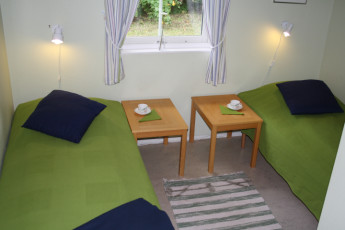 Stora Frögården : Twin Room in Stora Frogarden Hostel, Sweden