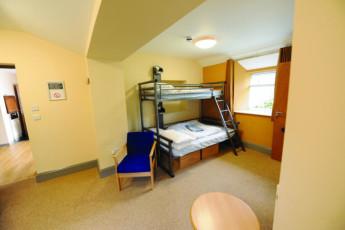 YHA Cheddar : Dorm room in the YHA Cheddar hostel in England