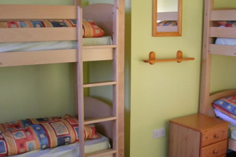 YHA Kington : Dorm room at the YHA Kington in England