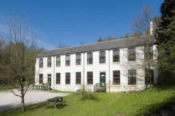 YHA Osmotherley : Exterior of the YHA Osmotherley hostel in England