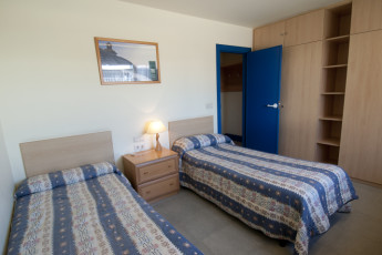 Pamplona - Fuerte del Principe : Twin Room in Pamplona - Fuerte del Principe Hostel, Spain