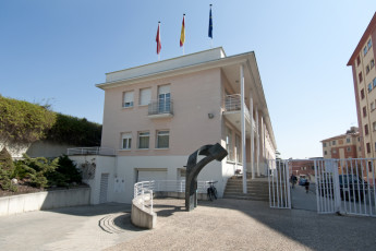 Pamplona - Fuerte del Principe : Outside View of Pamplona - Strong Prince Hostel, Spain