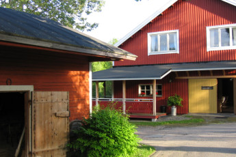 Joutsa - Vaihelan Tila : Exterior view of the Joutsa - Vaihelan Tila hostel in Finland