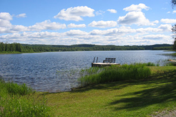 Joutsa - Vaihelan Tila : Lake near the Joutsa - Vaihelan Tila hostel in Finland