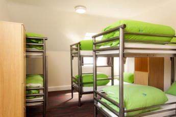 YHA York : dormitorio en York Hostel, Inglaterra