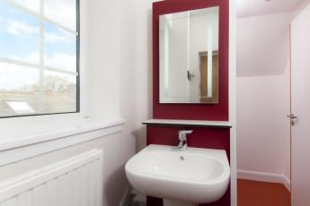 YHA York : baño en York Hostel, Inglaterra