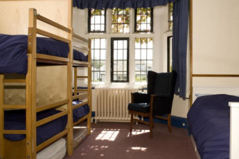 YHA Arnside : Dorm room in the YHA Arnside hostel in England
