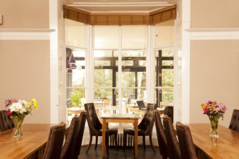 YHA York : comedor en York Hostel, Inglaterra
