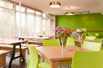 YHA York : Dining Area in York Hostel, England