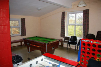YHA Snowdon Ranger : Games room in the YHA Snowdon Ranger hostel in England