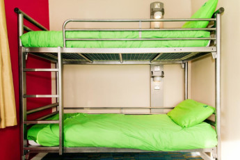 YHA Malham : Twin room in the YHA Malham hostel in England