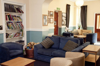 YHA Windermere : Lounge Area in Windermere Hostel, England