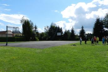 Maldegem - Die Loyale : Basketball Court and Sports Field at Maldegem - Die Loyale Hostel, Belgium