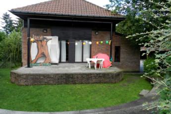 Maldegem - Die Loyale : Amphitheatre at Maldegem - Die Loyale Hostel, Belgium
