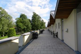 Maldegem - Die Loyale : Twin Rooms at Maldegem - Die Loyale Hostel, Belgium