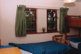YHA Danywenallt : Dorm room in the YHA Danywenallt hostel in England