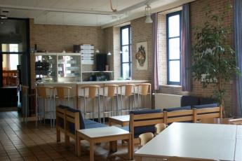 Blankenberge De Wullok : Dining room in the Blankenberge De Wullok hostel in Belgium