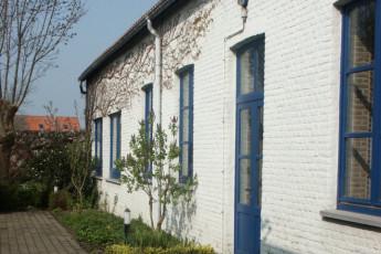 Blankenberge De Wullok : Exterior of the Blankenberge De Wullok hostel in Belgium