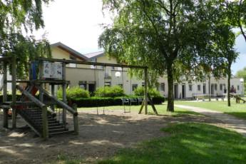 Maldegem - Die Loyale : Exterior View, Garden and Playground at Maldegem - Die Loyale Hostel, Belgium