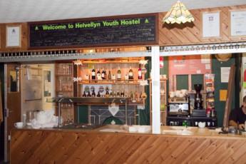 YHA Helvellyn : Reception of the YHA Helvellyn hostel in England