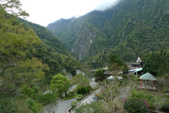 Tienhsiang Youth Activity Center : Landscape Surrounding Tienhsiang Youth Activity Center Hostel, Taiwan