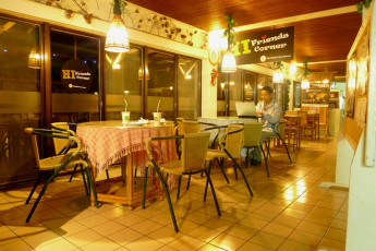 Tienhsiang Youth Activity Center : Cafe in Tienhsiang Youth Activity Center Hostel, Taiwan
