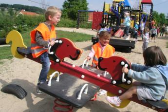 Ronse - De Fiertel : Playground at Ronse - De Fiertel Hostel, Belgium