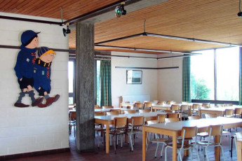 Ronse - De Fiertel : Dining Room in Ronse - De Fiertel Hostel, Belgium