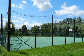 Ronse - De Fiertel : Basketball Court at Ronse - De Fiertel Hostel, Belgium