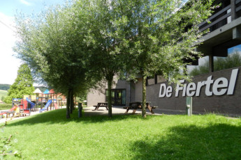 Ronse - De Fiertel : Lobby in Ronse - De Fiertel Hostel, Belgium