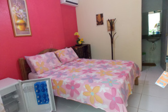 Natal Verdes Mares Hostel : Private double room in the Natal - Verdes Mares hostel in Brazil