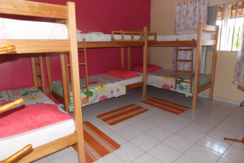 Natal Verdes Mares Hostel : Dorm room in the Natal - Verdes Mares hostel in Brazil