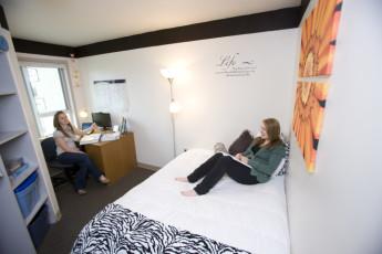 HI - Cranbrook : Single room in the HI - Cranbrook hostel in Canada